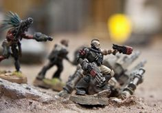Malfian Crusade (IG / =I=munda Blog) (=I= warband continues - 4/10/2012) - Page 13 - Forum - DakkaDakka | Like G.I. Joe with more skulls.