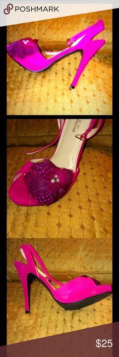 64dc6a4f619a4 13 Best fuschia shoes images in 2014 | Bridal shoe, Bridal shoes ...