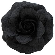 Sara Monica Flower Hair Clip and Pin, Lace Rose:Made in the USA (Black) >>> You can find out more details at the link of the image.