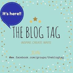 We are live!  Join us at http://www.facebook.com/groups/theblogtag (link in bio) for writing prompts  blog tags and so much more! by theblogtag