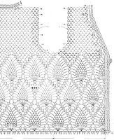 Crochet Sweater: Crochet Sweater for Spring and Summer Crochet Sweater: Crochet Sweater for Spring and Summer Blouse Au Crochet, Crochet Bolero Pattern, Gilet Crochet, Crochet Shirt, Crochet Diagram, Crochet Cardigan, Crochet Motif, Crochet Lace, Crochet Stitches