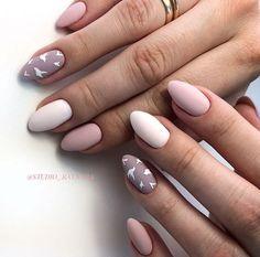 Cute Nails, Pretty Nails, My Nails, Matte Nail Colors, Nail Polish Colors, Nail Art Designs, Nails Design, Design Art, Natural Gel Nails