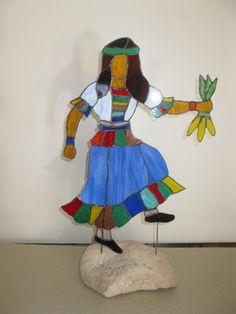 Corn Maiden, a Corn Dancer  Off to Dea and Lea-Apache Junction AZ
