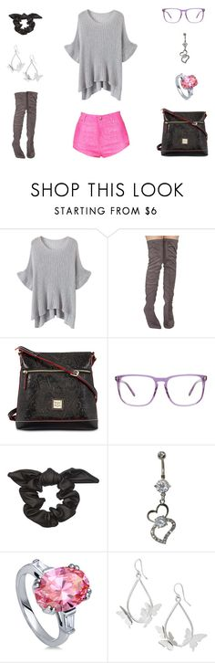 """""""20180101"""" by olivianakamura ❤ liked on Polyvore featuring WithChic, Dooney & Bourke, Derek Cardigan and BERRICLE"""