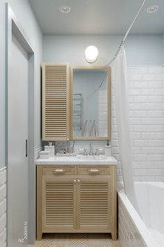 84 Simple Bathroom Shower Makeover Decor Ideas to Upgrade Your Bathroom Apartment Interior, Apartment Design, Home Interior, Bathroom Furniture, Bathroom Interior, Shower Makeover, Scandinavian Bathroom, Teen Room Decor, Bathroom Toilets