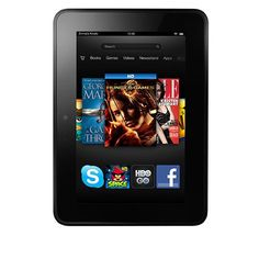 """Kindle Fire HD 7"""", Dolby Audio, Dual-Band Wi-Fi, 16 GB - Includes Special Offers - World's most advanced 7"""" tablet with stunning HD display, exclusive Dolby audio, and the fastest Wi-Fi found on a tablet. When it comes to HD displays, great resolutio"""