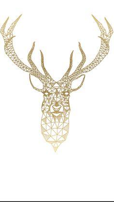 Cardboard Deer Heads, Geometric Deer, Spray Painting, Moose Art, Gifts, Animals, Bambi, Iphone Wallpapers, Instagram