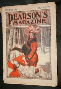 Antique Pearson's Magazine March 1906 by EverythingLovedAgain, $15.00