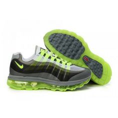 reputable site 6cd78 b4ff4 Nike Air Max 95 360 Grey Black Green D06082