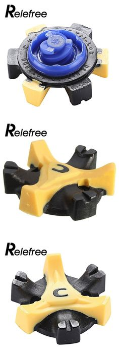 Relefree Golf Shoe Spikes Studs Replacement Cleats Champ Practice Training Aids