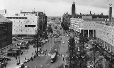 In de loop der jaren: De Coolsingel Rotterdam ca. 1975