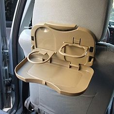 niceeshopTM Foldable Car Back Seat Drink Stand Bottle Rack Holder Travel Dining Tray Foot Tablebeige * Check out this great product.Note:It is affiliate link to Amazon.