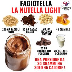 Conseils fitness en nutrition et en musculation. Tips Fitness, Fitness Nutrition, Nutella Light, Healthy Breakfast Recipes, Healthy Recipes, Healthy Food, No Calorie Foods, Diy Food, Baby Food Recipes