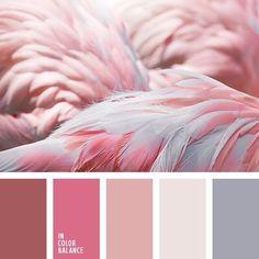 Ideas Bedroom Paint Colors Pink Design Seeds For 2019 Bedroom Paint Colors, Bedroom Color Schemes, Colour Schemes, Color Combinations, Paint Colours, Paint Schemes, Colour Pallette, Color Palate, Silver Color Palette