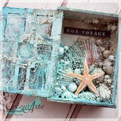 The Nautical Treasure Box – by Kasia | ColourArte Blog