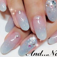 Unicorn gradient nail art More                              …