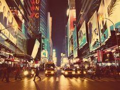 Cross a New York street