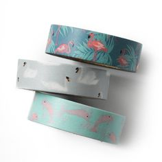 Washi tape set - flamingo - value pack - DIY - packaging - decorative tape - flamingo - swan - dolphin Love My Tapes >>> Check out this great product.