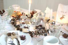 Tables de Fêtes - Idées de déco de table pour les fêtes de fin d'année