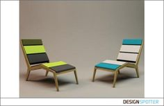 Love these fun chaise lounges.  Room 26 collection by Arne Quinze  #furniture #seating #home decor