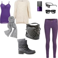 """Fall day in the outdoors"" by mmutah on Polyvore"