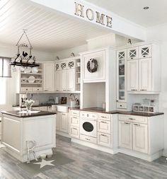 45 Luxurious Clean Sage Kitchen Cabinets Ideas - Page 5 of 45 - nicolette news Sage Kitchen, White Kitchen Cabinets, Kitchen Cabinet Design, Country Kitchen, Diy Kitchen, Kitchen Decor, Kitchen Ideas, Awesome Kitchen, Small Galley Kitchens