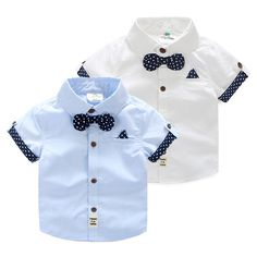 2017 Summer Male Children'S Clothing Baby Child Kids Boy Cotton Short-Sleeve child Dots Bow Tie Shirt Summer Boy, 2017 Summer, Baby Boy Outfits, Kids Outfits, Bow Tie Shirt, Bow Ties, Baby Boy Shirts, Kids Boys Shirts, Baby Boy Dress