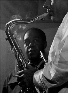 "Charlie Parker  1954  |  ""Music is your own experience, your own thoughts, your wisdom.  If you don't live it, it won't come out your horn. They teach you there's a boundary line to music. But, man, there's no boundary line to art."" -Charlie Parker"