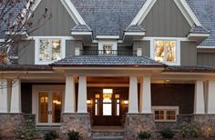 craftsman arts and crafts style entrances | Types of Siding for Arts and Crafts Style Homes