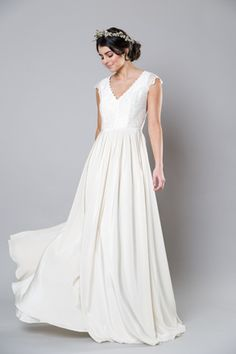 Sally Eagle style Diana offered exclusively at Something White Bridal Boutique!