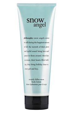 philosophy 'snow angel' body lotion available at #Nordstrom