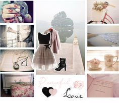 """peaceful love"" by tinnyfrufru ❤ liked on Polyvore"