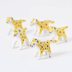 Mini léopard en céra