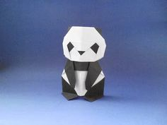 Origami Panda (Román Díaz) - Part 1 - YouTube