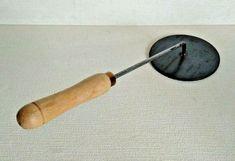 Vintage French Creme Brulee Caramelising Iron Kitchenalia  P 1115