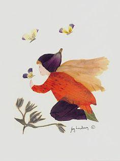 Flower art by Joy Lindberg.