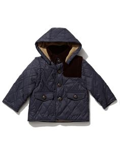 The Truman Convertible Quilted Jacket by Andy & Evan at Gilt