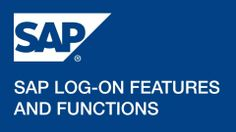 SAP Log-on: Features and Functions Learn A New Skill, Online Courses, Knowledge, Hyderabad, Learning, Starters, Confidence, Delivery, Range