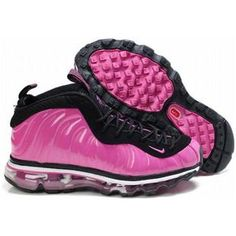 2012 new nike air foamosites one air max 2009 fusion ladies shoes pink and  black 27475 276635893
