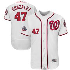 429e55aaf55 Gio Gonzalez Washington Nationals Majestic 2018 All-Star Game Home Flex Base  Player Jersey – White