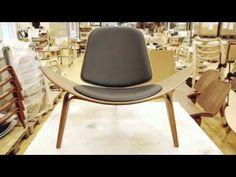 Carl Hansen & Søn fauteuil CH07 Shell Chair Eiken - North Sea Design