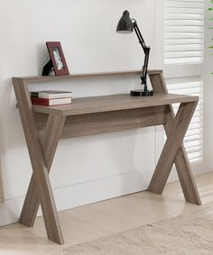 Look+what+I+found+on+#zulily!+Light+Oak+Travers+Desk+#zulilyfinds