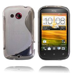 Transparent S-Line (Klar) HTC Desire C Deksel