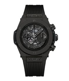 Hublot http://www.vogue.fr/joaillerie/shopping/diaporama/horlogerie-montres-bale-2014-baselworld/17999/image/988287#!horlogerie-bale-2014-hublot-montre-classic-fusion-tourbillon-night-out