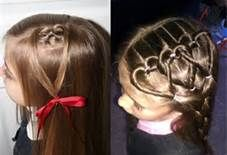 valentines day hairstyles for kids - Bing Images