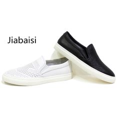 Jiabaisi shoes Mens shoes casual summer chaussure homm shoes men laser men cool solid loafers comfort Genuine Cow leather shoes
