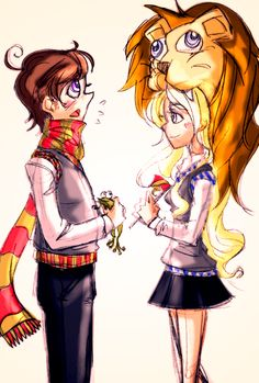 My favorites. Neville and Luna. They got married in my mind.