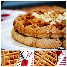 breakfast waffles recipes | SRC - Apple Cinnamon Waffles (Gluten Free)
