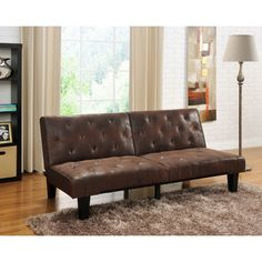 DHP Venti Futon Sofa Bed - Free Shipping Today - Overstock.com - 16304069 - Mobile