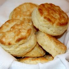 Southern Buttermilk Biscuits by DeepSouthDish-  I miss my Mom's biscuits think I will try this one
